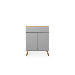Tenzo Kommode DOT, mit zwei Türen versch. Farben grau