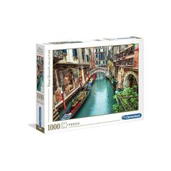 Clementoni® Puzzle Clementoni - Venice Canal, 1000 Teile Puzzle, 1000 Puzzleteile