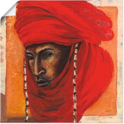 Artland Wandbild Beduine, Mann (1 Stück) 50 cm x 50 cm