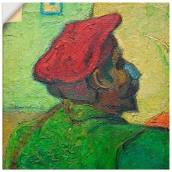 Wandbild »Paul Gauguin Gemälde v. V. van Gogh«, Bilder, 44409542-0 grün 40x40 cm grün