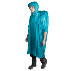 Sea To Summit - Poncho Tarp UL 15 D Blau - Ponchos