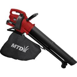 MTD Products BLBV40 Akku Laubbläser, Laubsauger, Laubhäcksler ohne Akku, fahrbar 40V