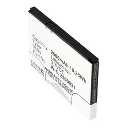 Akku passend für Netgear Aircard 782s, Netgear W-5 3,7 Volt 2500mAh