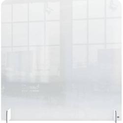 Thekenaufsteller 70x85cm Acrylglas ohne Öffnung