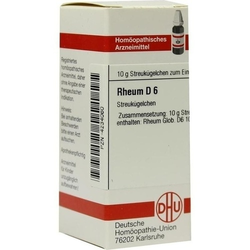 RHEUM D 6 Globuli 10 g