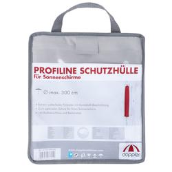 """Doppler Schirmhülle für Sonnenschirme """"Profi Line"""" inkl. Tragetasche, mit RV, mit Stab,,für Sonnenschirme bis 300 cm"""
