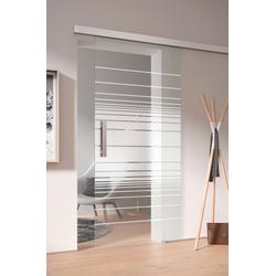 Glasschiebetür Toja, S36/83, 94,0x206,0 cm