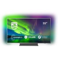 Philips 55PUS7504/12 Fernseher 139,7 cm (55 Zoll) 4K UHD LED-TV silber,