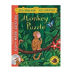 Monkey Puzzle. Book and CD Pack. Julia Donaldson  - Buch