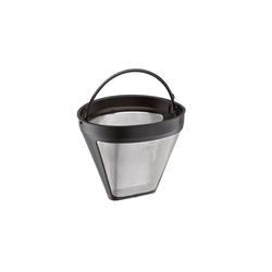 Cilio Kaffeebereiter Kaffeefilter Größe 4 Edelstahl