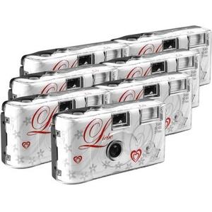 Love White Einwegkamera 7 St. mit eingebautem Blitz