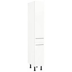 wiho Küchen Apothekerschrank Ela mit 2 Auszügen, mit Soft-Close-Funktion weiß