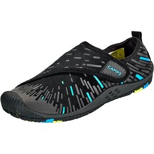 CAMPZ Wasserschuhe mit Klettverschluss schwarz/blau EU 42 2021 Badesandalen