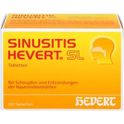 SINUSITIS HEVERT SL Tabletten 100 St.
