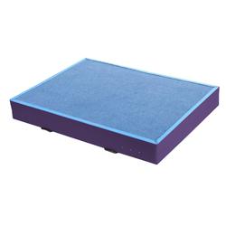 Niedersprungmatte blau-lila - 150 x 200 x 20 cm
