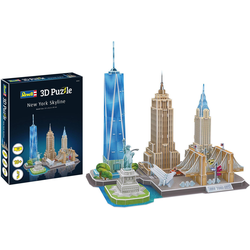 Revell 3D-Puzzle New York Skyline bunt Kinder Ab 9-11 Jahren Altersempfehlung Puzzles