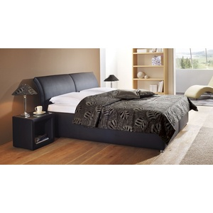 Polsterbett mit Bettkasten Trapani - 180x200 cm - braun