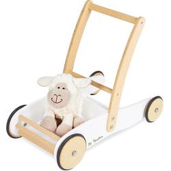 Pinolino® Lauflernwagen Uli, weiß, aus Holz