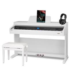 Classic Cantabile DP-A 410 WM E-Piano SET weiß matt
