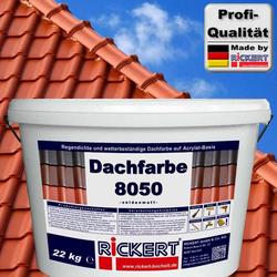 Dachfarbe 8050 22 kg Eimer Ziegelrot