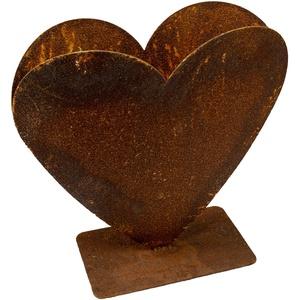 Rost Herz zum bepflanzen Metall Gartendeko Edelrost Gartendekoration