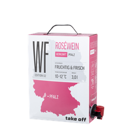 Take off Cuvée Rosé Bag-in-Box - 3,0 L - 2019 - MEJS - Die Weinspezialisten - Roséwein
