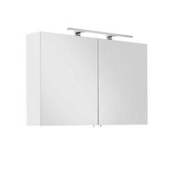 Bad Spiegelschrank mit LED Beleuchtung 100 cm breit