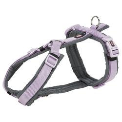 TRIXIE Hunde-Geschirr Premium Trekking Geschirr, Nylon lila M - 53 cm - 64 cm