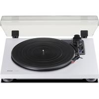 Teac TN-180BT Audio-Plattenspieler mit (Riemenantrieb, Schwarz, Weiß