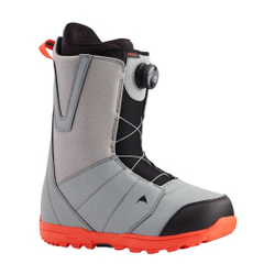 Burton - Moto Boa Gray/Red 20 - Herren Snowboard Boots - Größe: 12 US