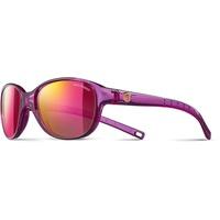 Julbo Romy Sonnenbrille für Mädchen, Violett transparent glänzend
