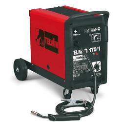 TELWIN Telmig 170/1 Turbo MIG MAG Schweißgerät mit Schlauchpaket und Massekabel