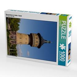 Wasserturm in Halle / Saale Lege-Größe 48 x 64 cm Foto-Puzzle Bild von wkbilder Puzzle