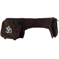 Guru-Shop Gürteltasche Sidebag, Goa Gürteltasche - braun