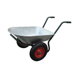 vidaXL Schubkarre Gartengerät Zweirad-Schubkarre 66 L