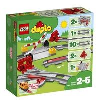 Lego Duplo Eisenbahn Schienen 10882
