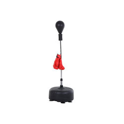HOMCOM Punchingball Punchingball-Set mit Boxhandschuhe