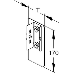 Niedax Alu-Enddeckel DAEDR 170 N