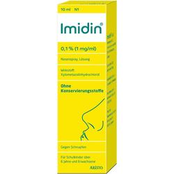 IMIDIN 0,1% 1 mg/ml Nasenspray 10 ml