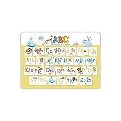 Hochwertiges ABC-Mini-Lernposter der Tiere