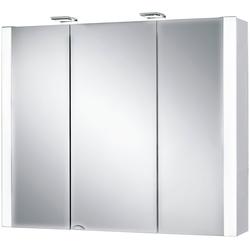 Jokey Spiegelschrank Jarvis Breite 80 cm, mit LED-Beleuchtung weiß