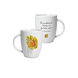 """Geschenktasse Motiv """"Sonnenblume"""""""""""""""