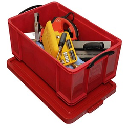 Really Useful Box Aufbewahrungsbox 64,0 l rot 71,0 x 44,0 x 31,0 cm