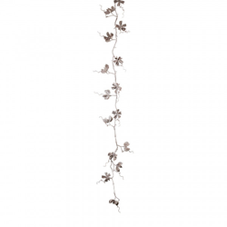 Baumwollgirlande geeist (H 130 cm)