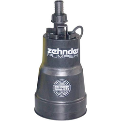 Zehnder Pumpen 13187 Flachsaugende Tauchpumpe 5500 l/h 7m