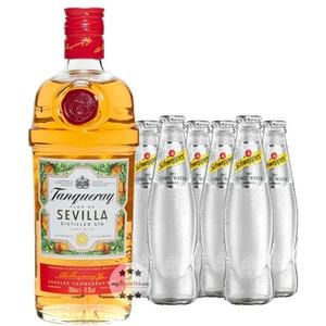 Tanqueray Flor de Sevilla Gin & Schweppes Dry Tonic Set