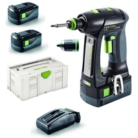 Festool C 18 Li 5,2-Plus inkl. 2 x 5,2 Ah