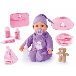 Bayer Babypuppe Piccolina Real Tears (9-tlg)