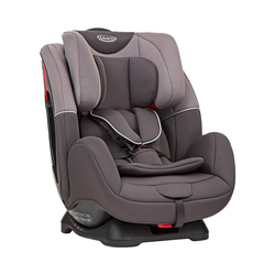 Graco Autokindersitz Auto-Kindersitz Enhance, Black&Grey grau