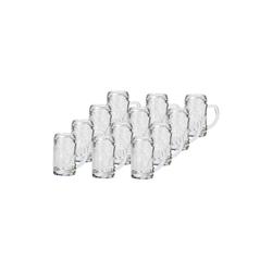 Stölzle Schnapsglas ISAR Mini-Bierkrug Schnapsglas 40 ml 12er Set, Glas